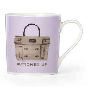 "Kate Spade Lenox ""Buttoned Up"" Mug"